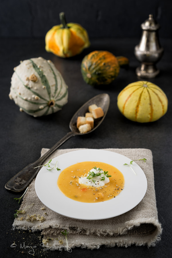 Photograph Pumpkin Soup by MARJA SCHWARTZ on 500px