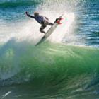 volando en las olas de Chile