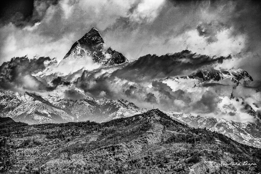 Photograph Macchapurchre  by Kaustubh Thapa on 500px