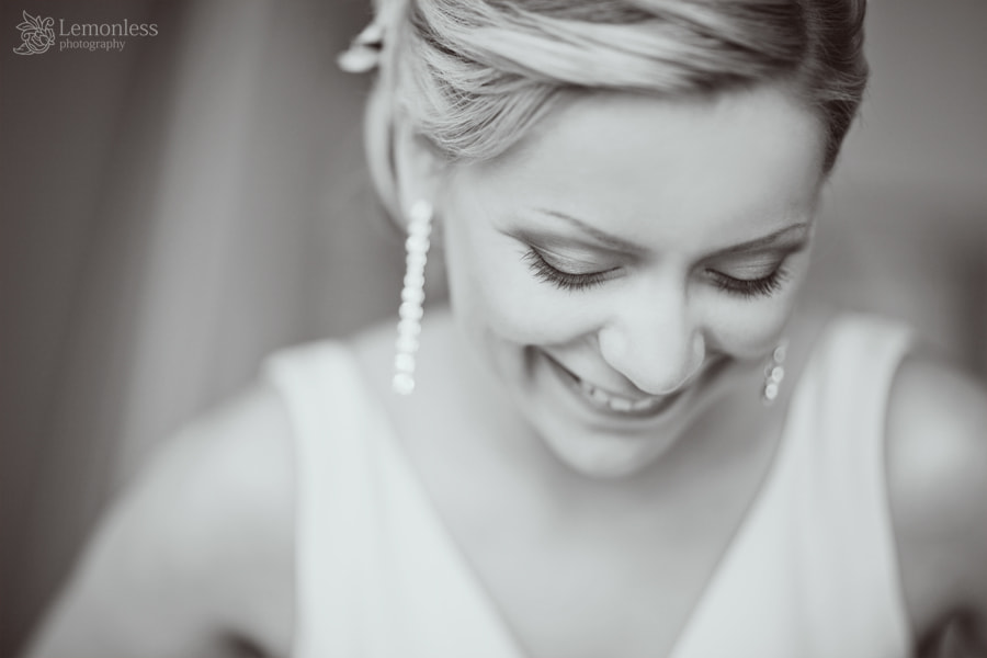 Photograph Bride smile by Elena Moskaliova on 500px