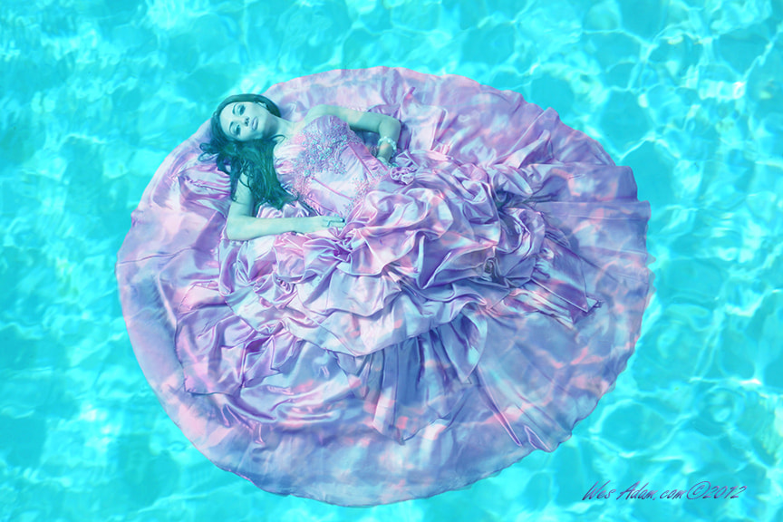 Photograph Girl in the Pool by Wes Adam on 500px