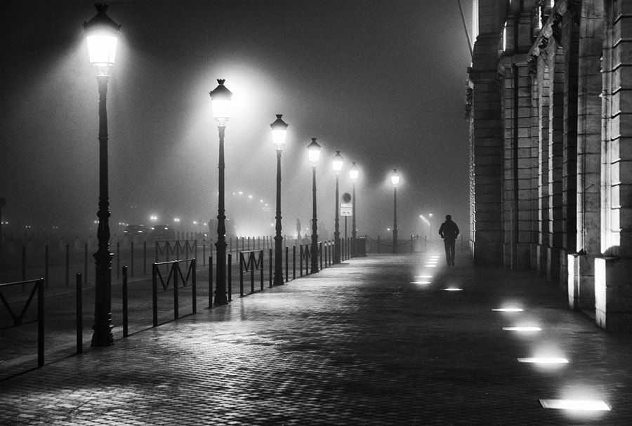 Photograph A walk in the night #7 by Magali K. on 500px