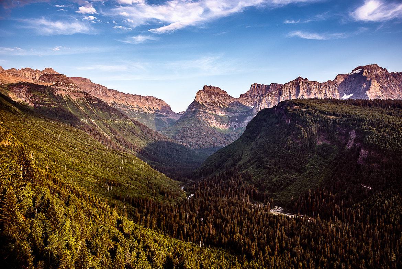Glacier Park Valley View