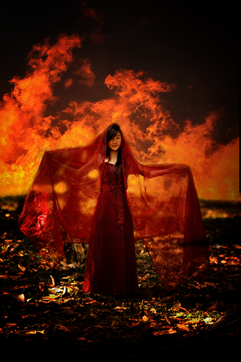 Photograph The Girl And Fire by Sugianto Suparman on 500px