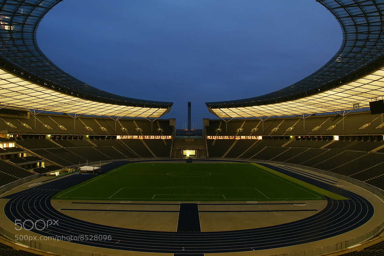 Photograph Olympic Stadium Berlin by Branko Frelih on 500px