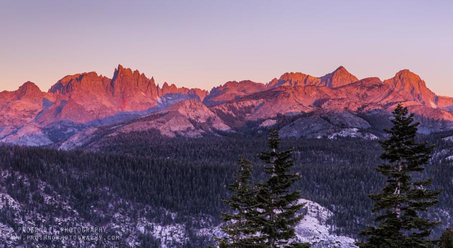 Sunrise in Sierra