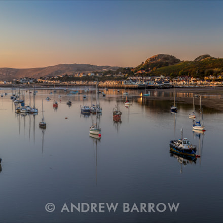 Dawn over the River Conwy