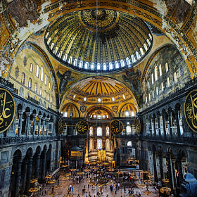 Hagia Sophia by xflo : w (xflow)) on 500px.com