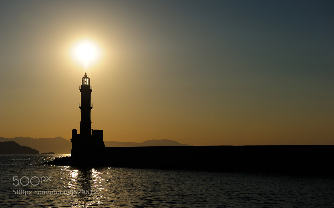 Photograph Chania Lighthouse by David Manzi on 500px