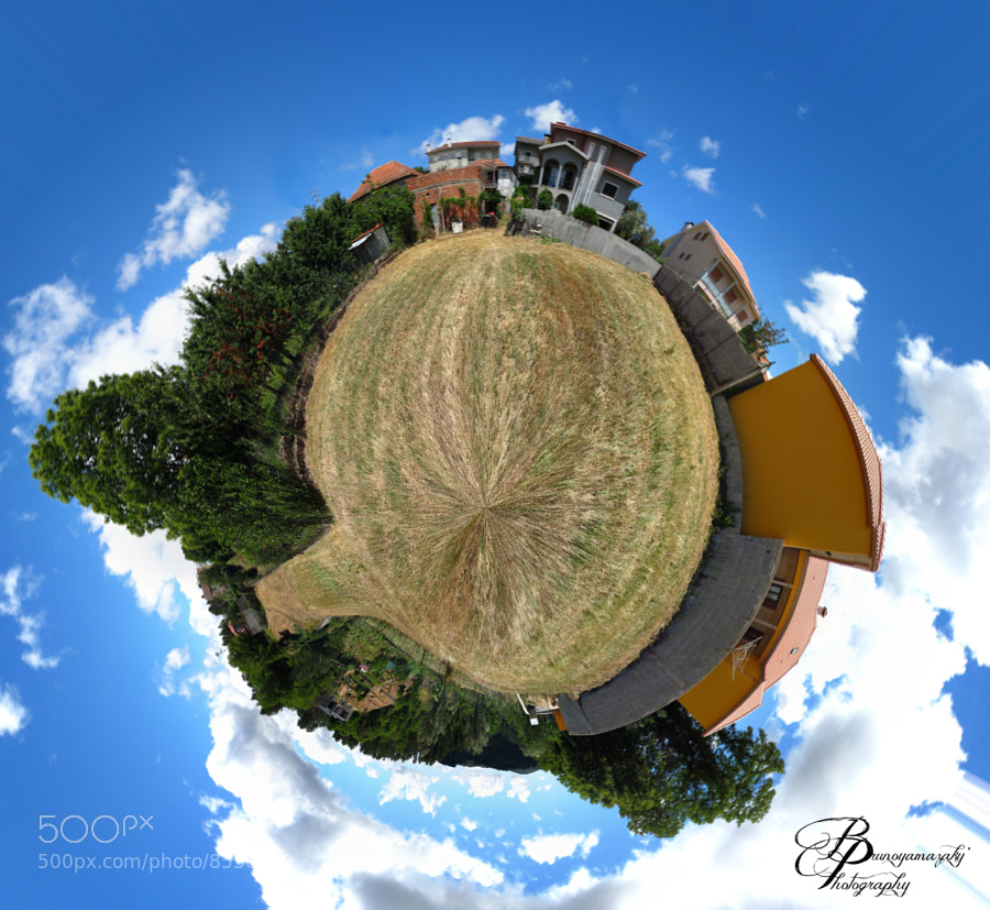 Photograph My First Mini Planet  by Bruno Yamazaky on 500px