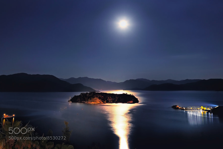Photograph Moonlight on the Bay... by Alp Cem on 500px