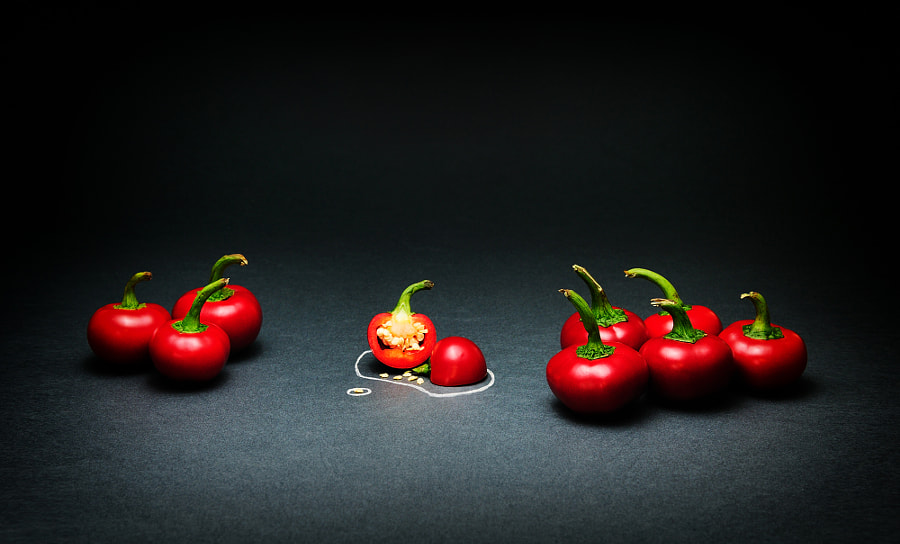 Forensic Peppers by Viktor Aladzajkov on 500px.com
