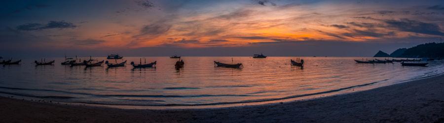 Sunset in Ko Tao