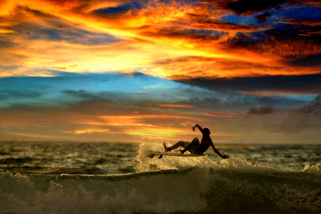 Photograph Surfing...... by CK NG on 500px