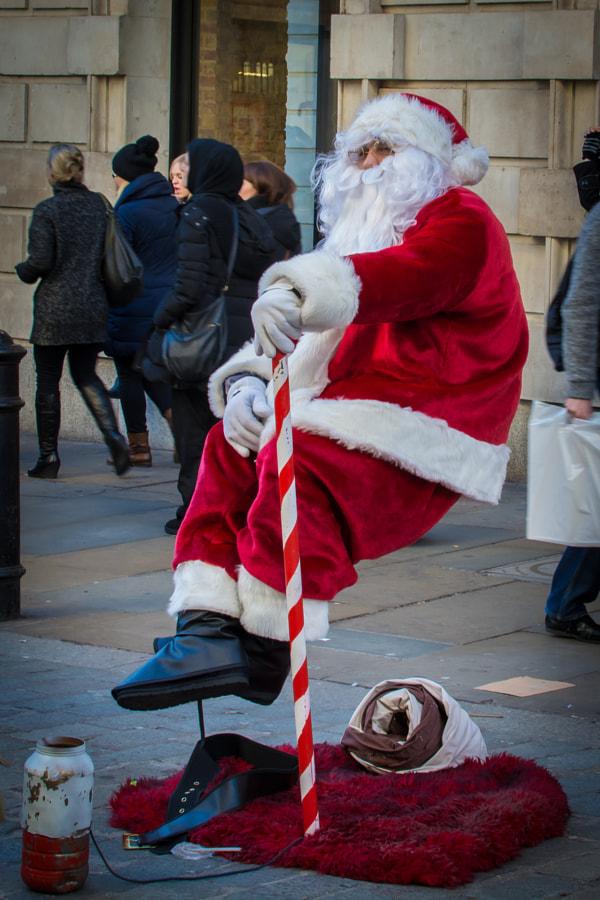 __Santa Taking a Break__