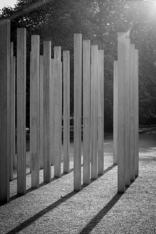 7/7 Memorial, London in BW