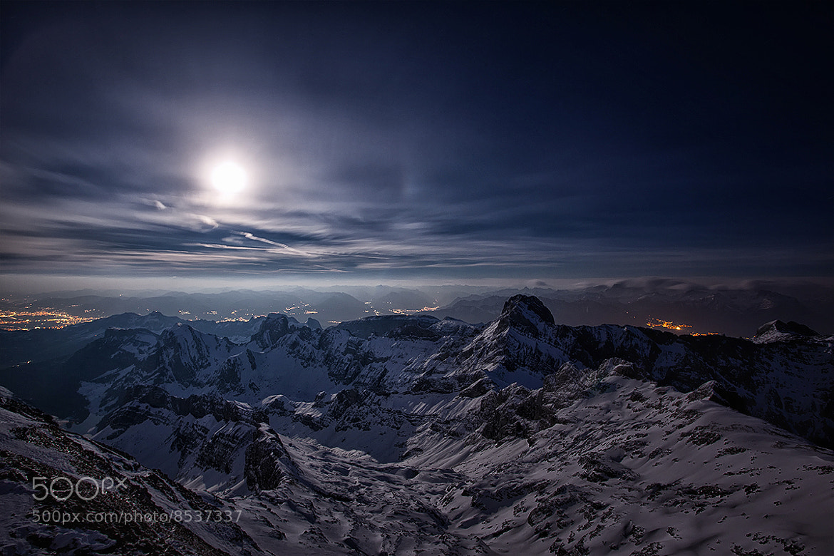 Photograph Blue mountain light by Kai Böhm on 500px