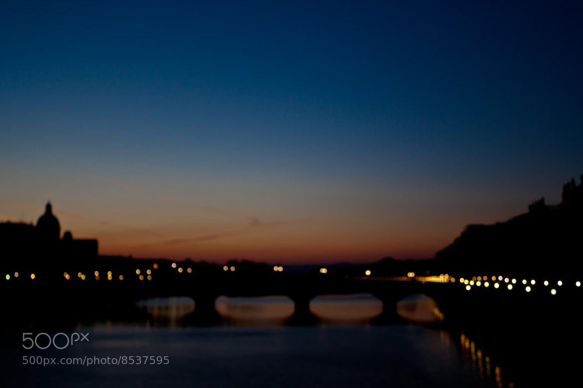 Photograph Firenze Sunset in Blur by Gigi Photography on 500px