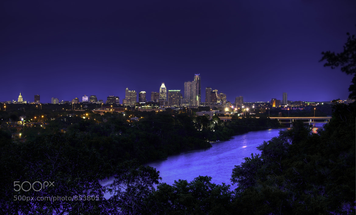 Photograph Austin Skyline - Night View by Gino Barasa on 500px