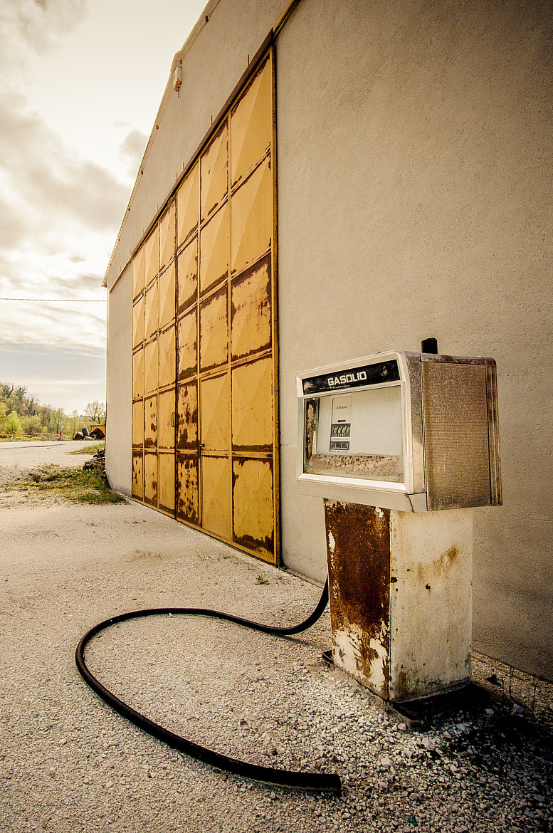 Photograph gasoline dismissed pump by Antonio Cutrona on 500px