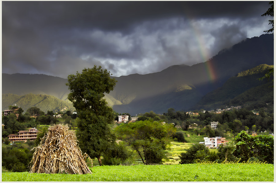 Nepal Series: Rainbow