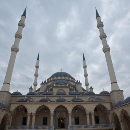 La grande mosquée de Grozny