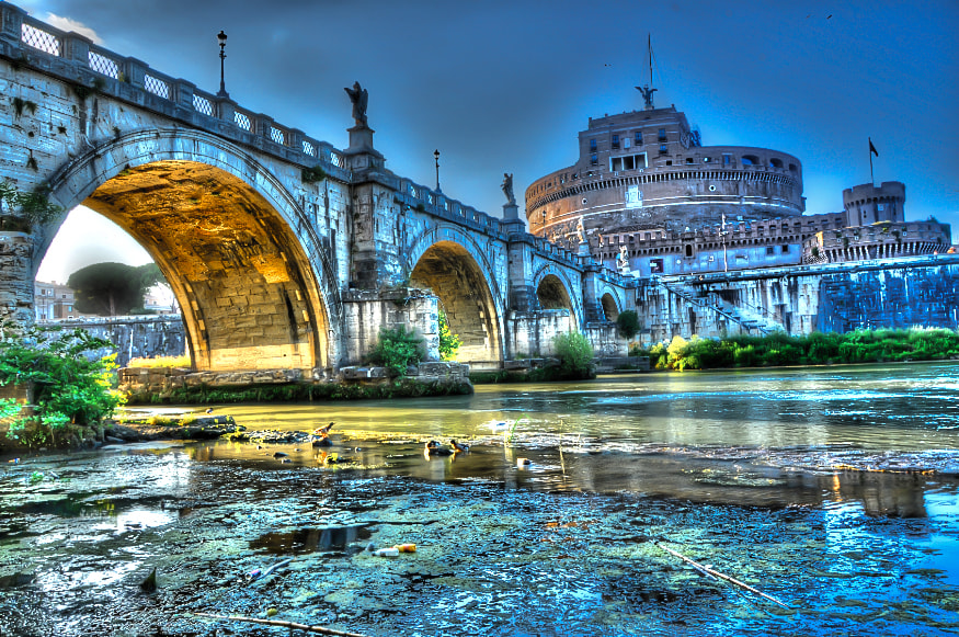 Photograph Castel Sant'Angelo by Leo Mosca on 500px