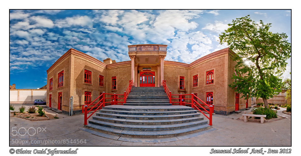 Photograph samsami school pano by Omid Jafarnezhad on 500px