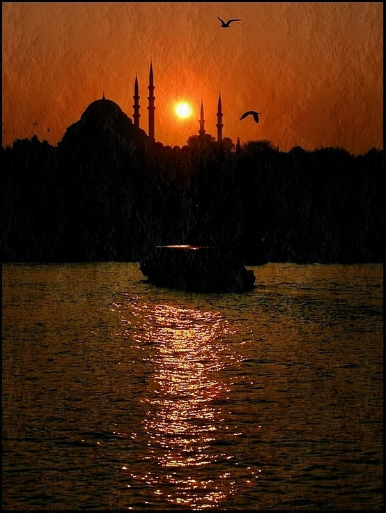 Photograph farewell to the day II by Levent Yersal on 500px