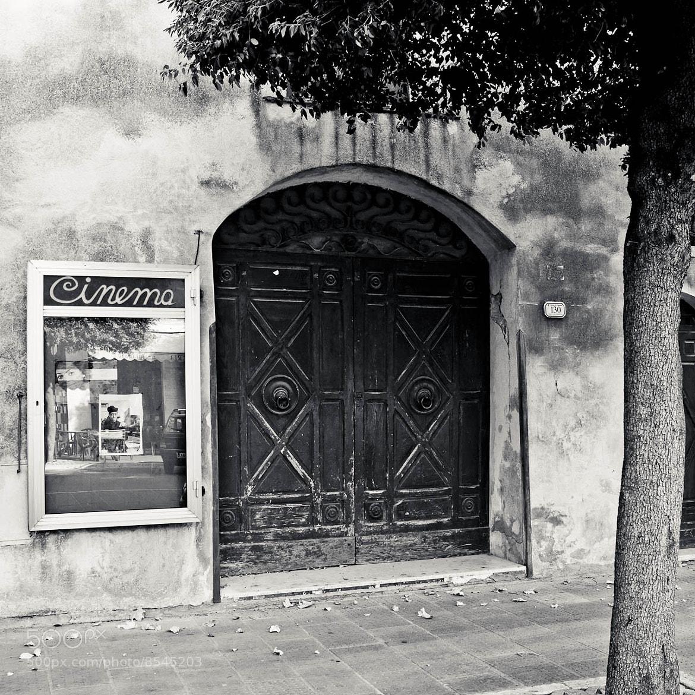 Photograph Pitigliano cinema by Jørn Henning Vikjord on 500px