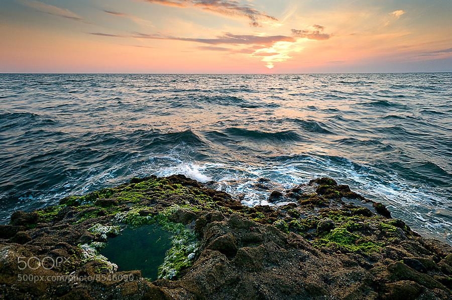 Photograph rocks at sabaudia sea by Antonio Cutrona on 500px