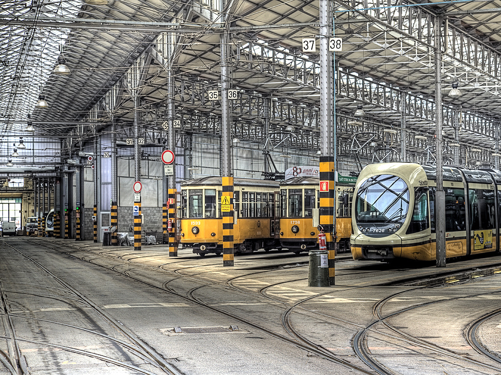 Photograph Tram Station by Ander Aguirre on 500px