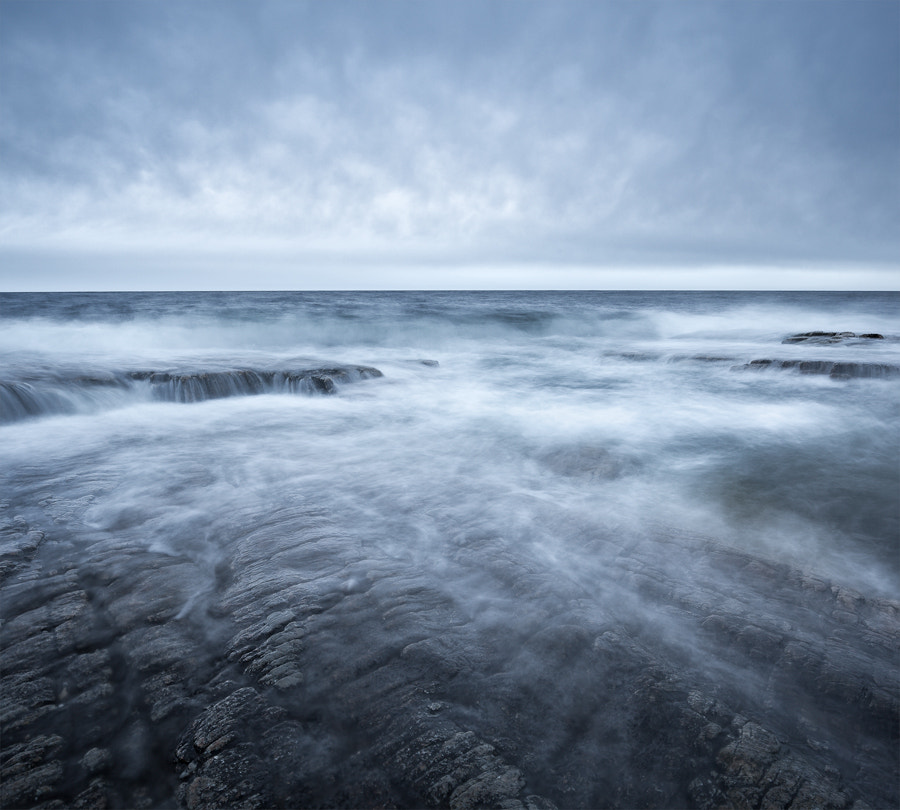 Photograph Pale Sea by Magnus Lindbom on 500px