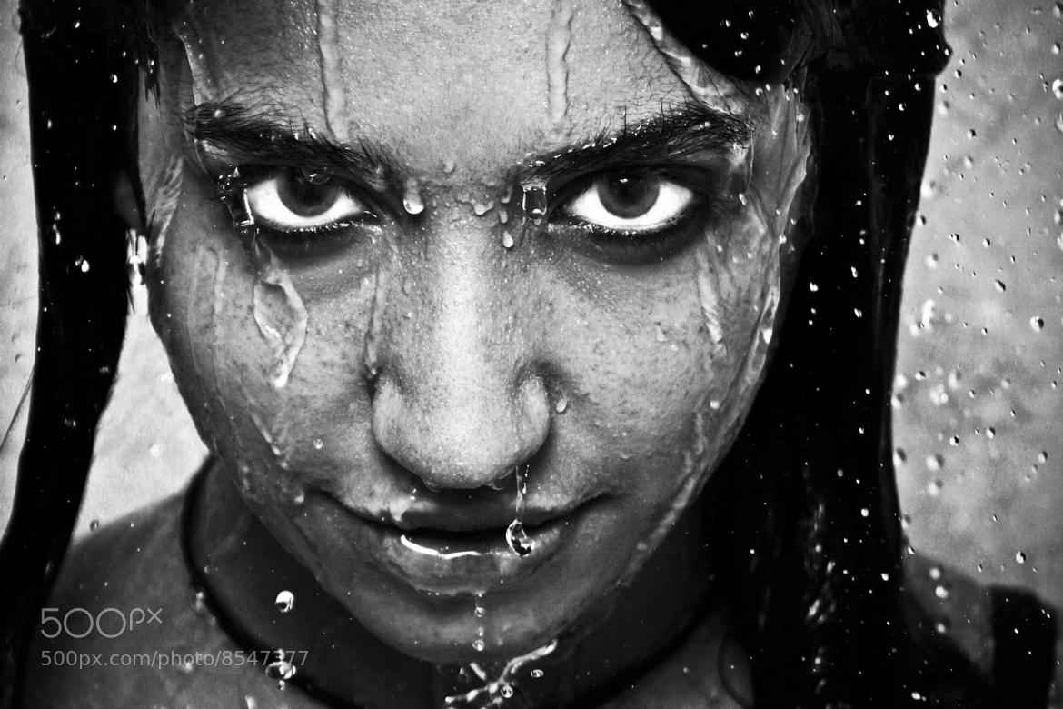 Photograph Drops b&w by Martin Delamer on 500px