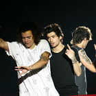 Постер, плакат: Harry Styles & Zayn Malik WWA Metlife Stadium