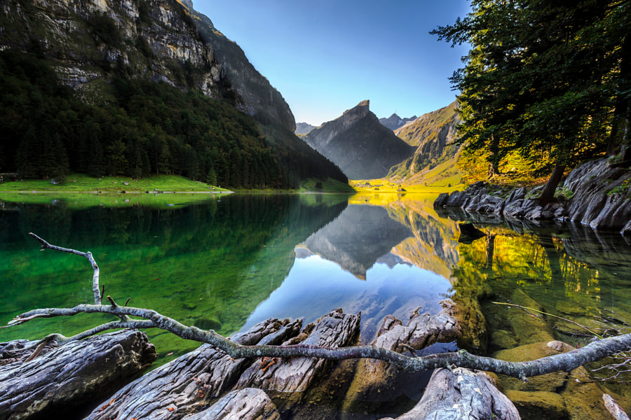 Swiss Alps: Seealpsee by Frederic Huber on 500px.com