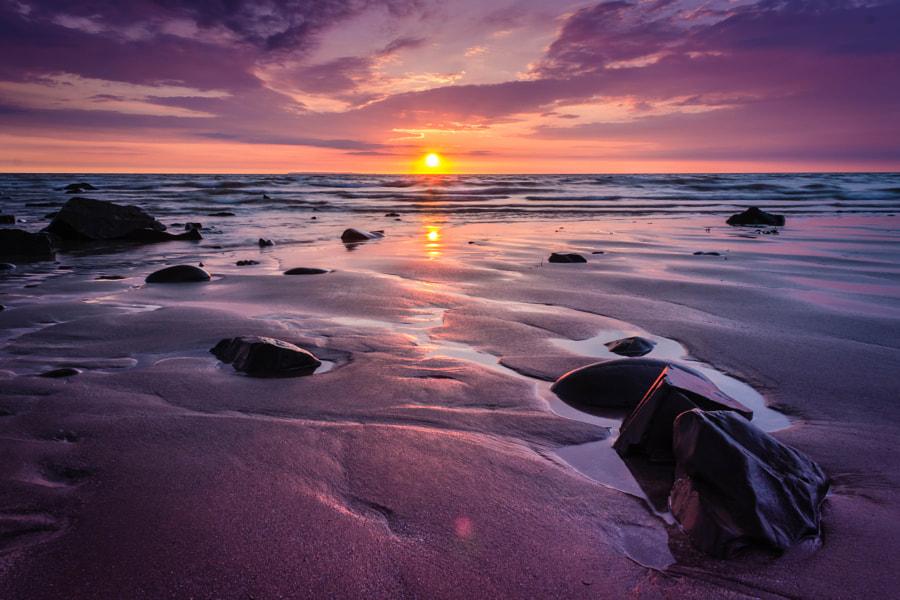 Sandy Sun Set by James Brooks on 500px.com