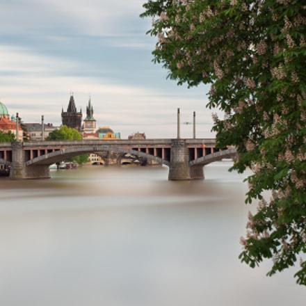 Three towers and bridge