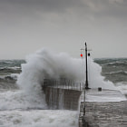 This was taken last week at Porthleven in Cornwall, UK during a Force 9 storm.