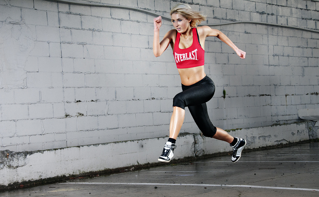 Photograph Angelika running in Auckland CBD. by XAVIER WALLACH on 500px