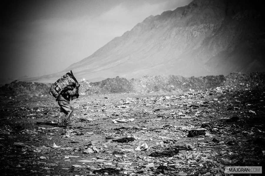 Photograph The Trash Miner by Ray Majoran on 500px