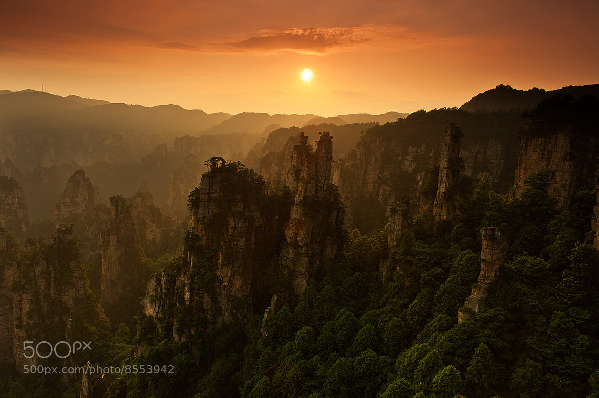 Photograph Zhangjiajie Sunset by Tonnaja Anan Charoenkal on 500px