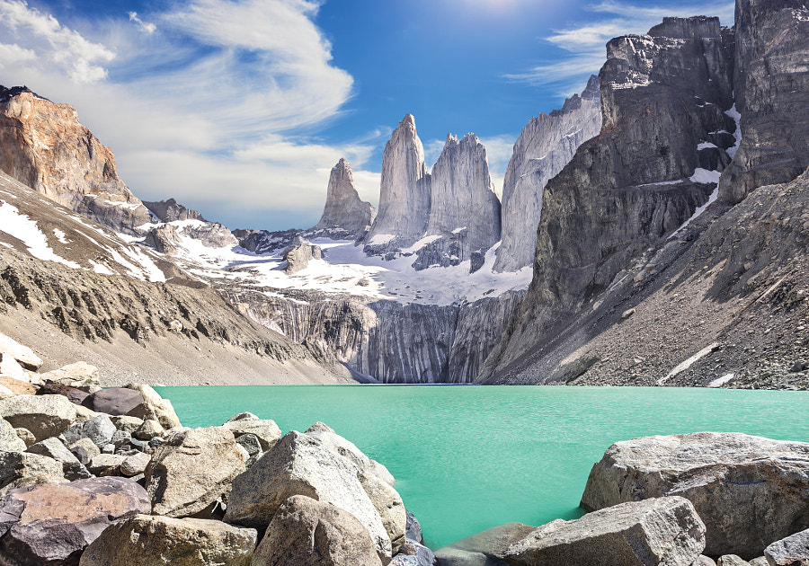 Torres del Paine mountains, Patagonia, Chile by Maciej Bledowski on 500px.com