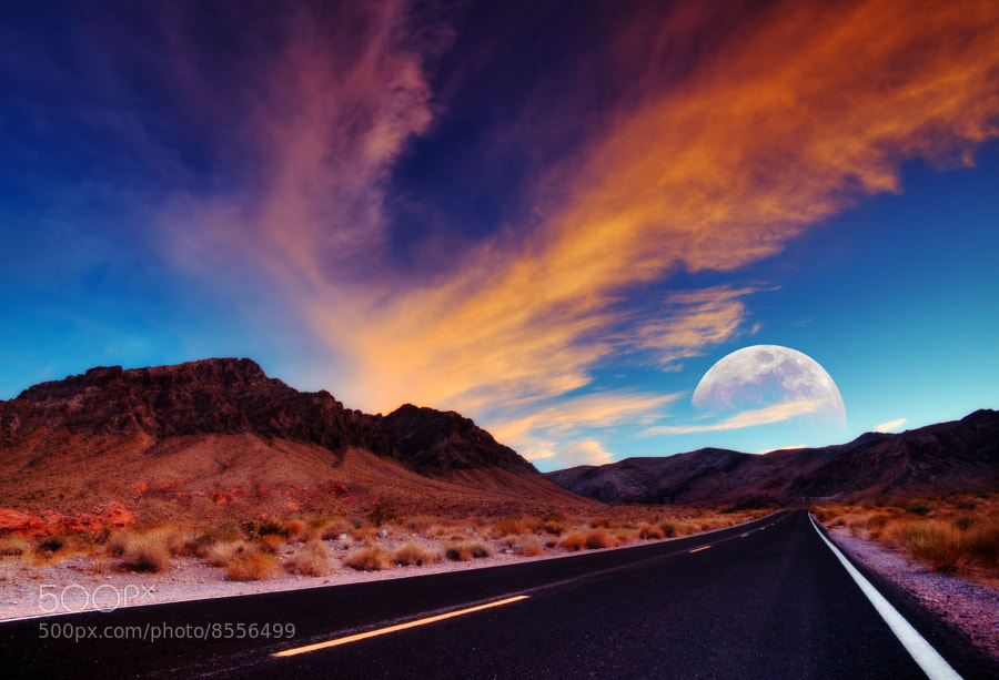 Photograph Highway mood by Stefan Thaler on 500px