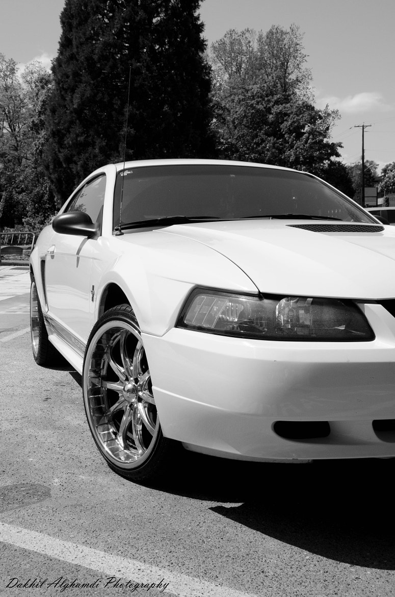 Photograph A furious Ford Mustang '02 by Dakhil Alghamdi on 500px