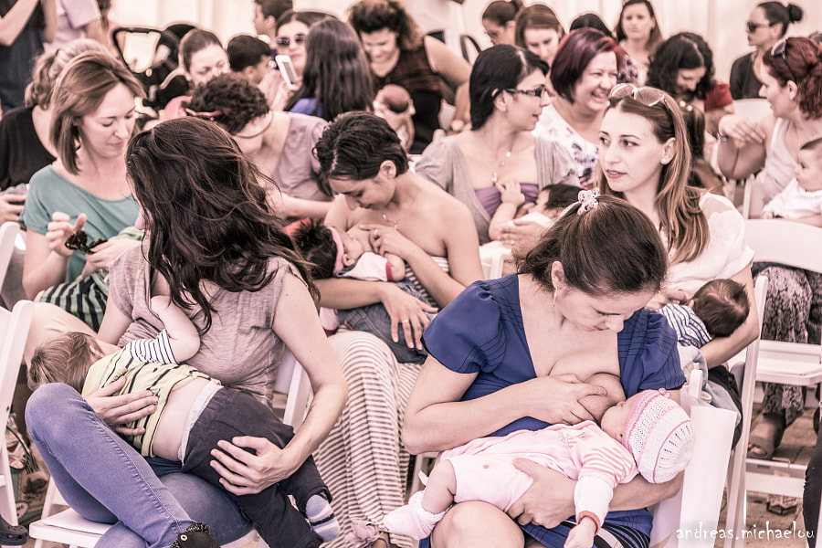 Photograph Simultaneous breastfeeding by Andreas Michaelou on 500px