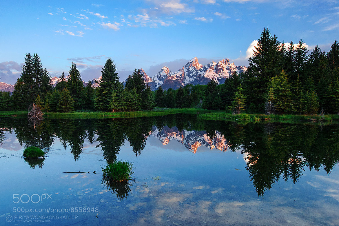 Photograph Grand Teton Reflection by Pete Piriya on 500px