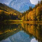 Morning light, Riessersee. Garmisch-Partenkirchen, Bavaria, Germany, october 2014. Hope you like it!