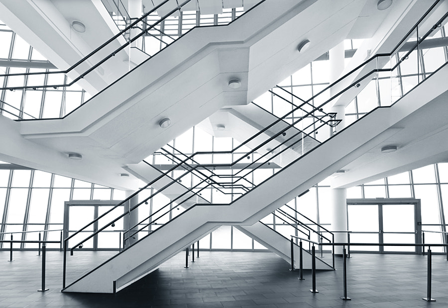 Photograph Stairs by Ralf Wendrich on 500px
