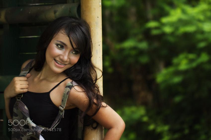 Photograph Sweet smile by Eddy Ngadiwidjaya on 500px